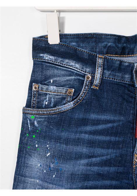 JEANS BLU DSQUARED KIDS | Pantalone | DQ03LDD001ID2P118LMDQ01##