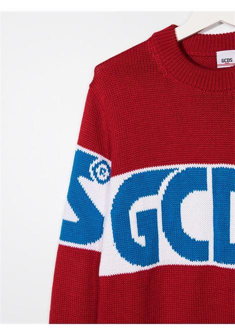 maglione rosso GCDS KIDS | Felpa | 025756040##