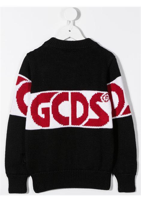 maglione nero GCDS KIDS | Felpa | 025756110#