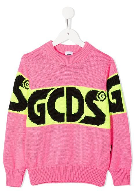 maglione rosa GCDS KIDS | Felpa | 025756134#