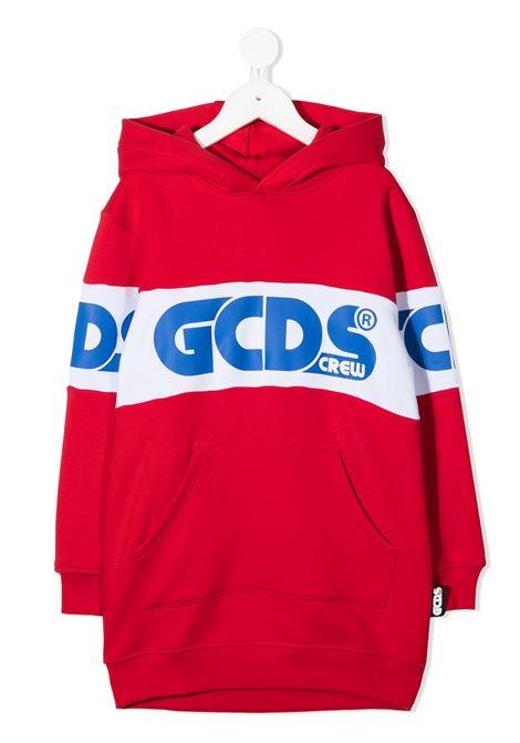 abito di felpa rosso GCDS KIDS | Felpa | 025758040#
