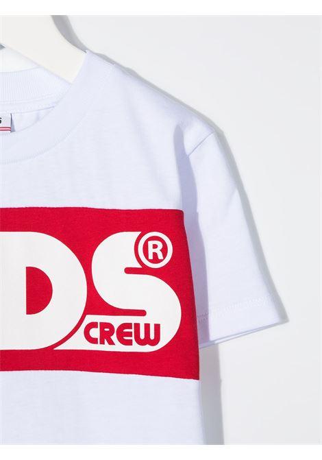 maglia bianca GCDS KIDS | T-shirt | 025761001#