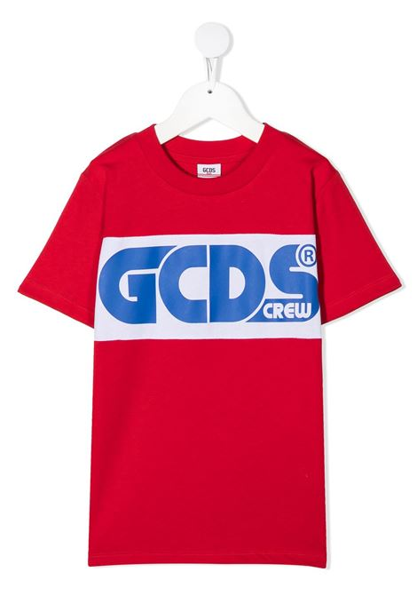 maglia rossa GCDS KIDS | T-shirt | 025761040#