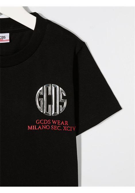 T-SHIRT NERA GCDS KIDS | T-shirt | 025769110#
