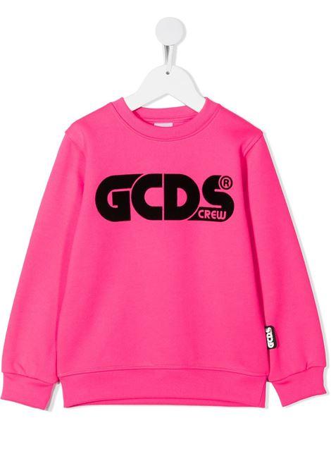 FELPA FUCSIA GCDS KIDS | Felpa | 025775134#