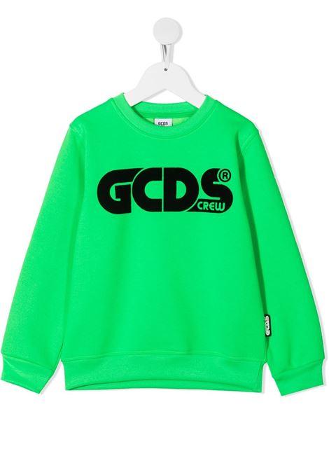 FELPA VERDE GCDS KIDS | Felpa | 025775169#