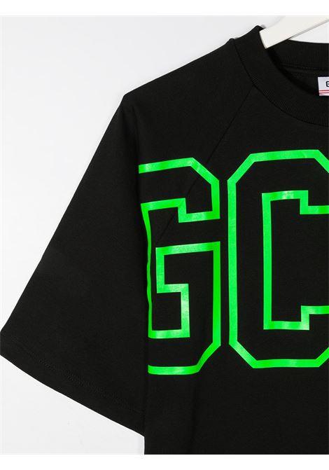 T-SHIRT NERA GCDS KIDS | T-shirt | 025873110##