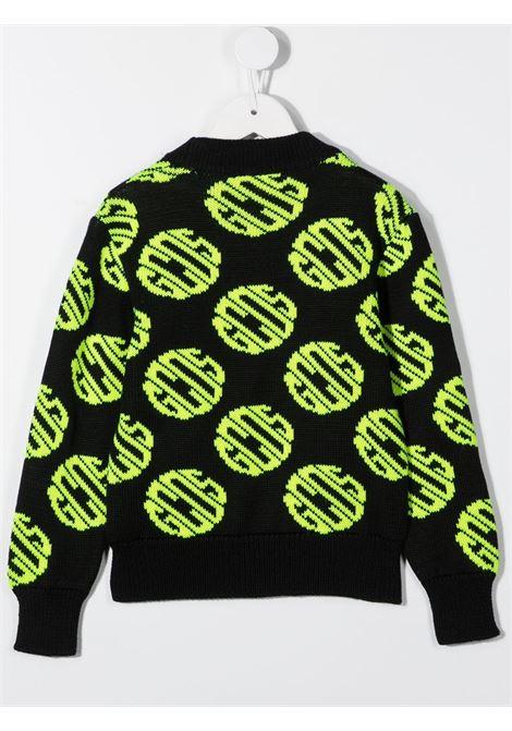 maglione nero GCDS KIDS | Felpa | 025890110#