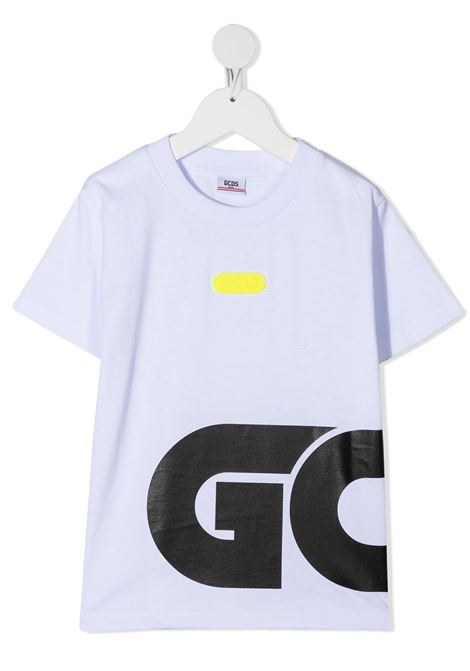 t-shirt bianca GCDS KIDS | T-shirt | 025892001#