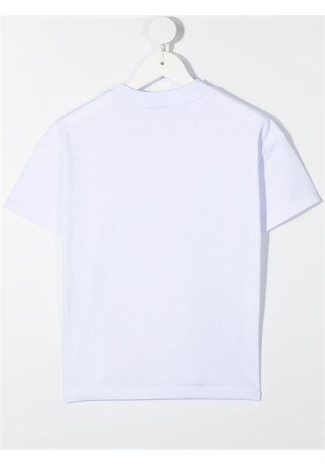 t-shirt bianca GCDS KIDS | T-shirt | 026164001#