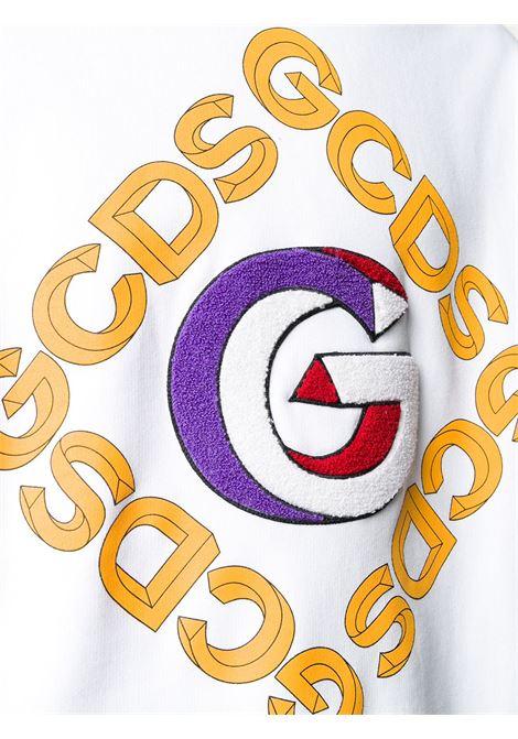 FELPA BIANCA GCDS | Maglione | FW21M02005501
