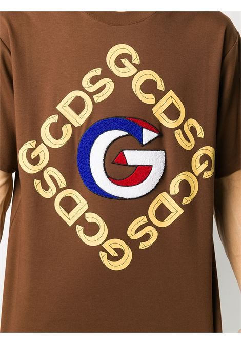 T-SHIRT MARRONE GCDS | T-shirt | FW21M02005614