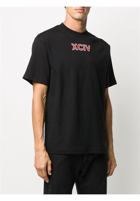 T-SHIRT NERA GCDS   T-shirt   FW21M02009902
