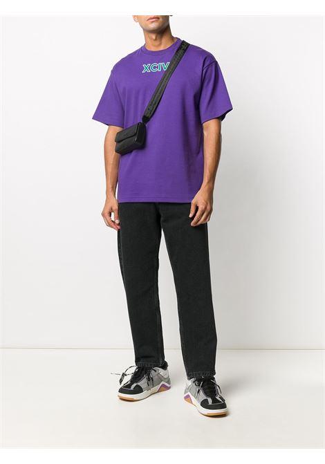 T-SHIRT VIOLA GCDS | T-shirt | FW21M02009911