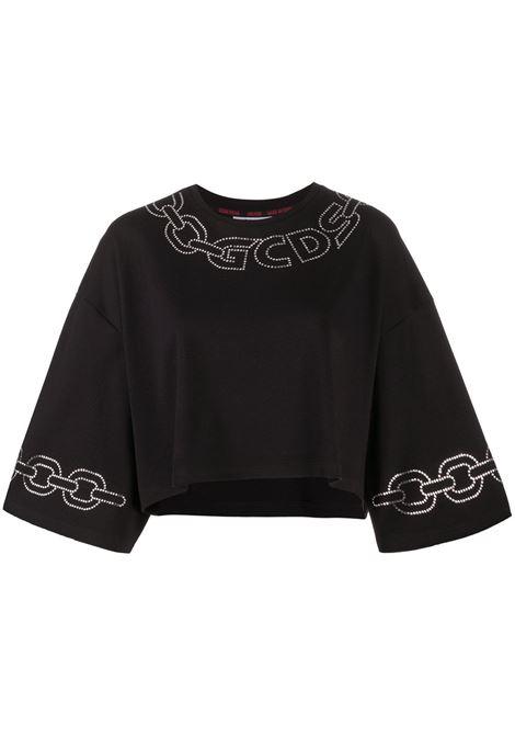 MAGLIA NERA GCDS | T-shirt | FW21W02015702