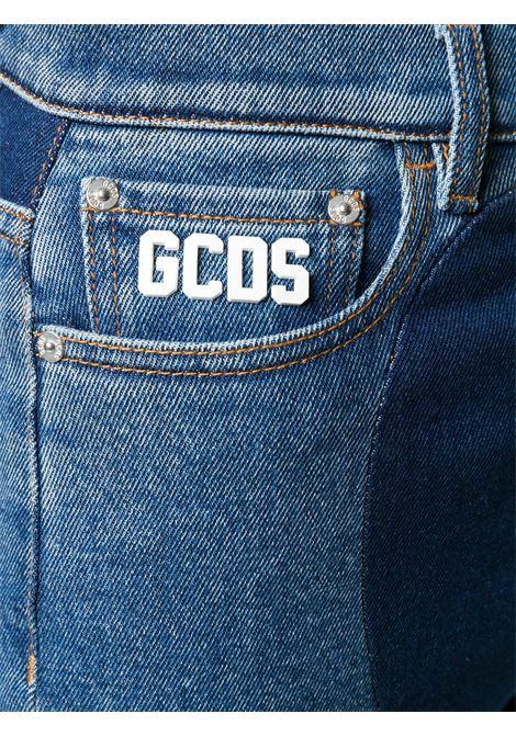 JEANS BLU GCDS | Jeans | FW21W03000607