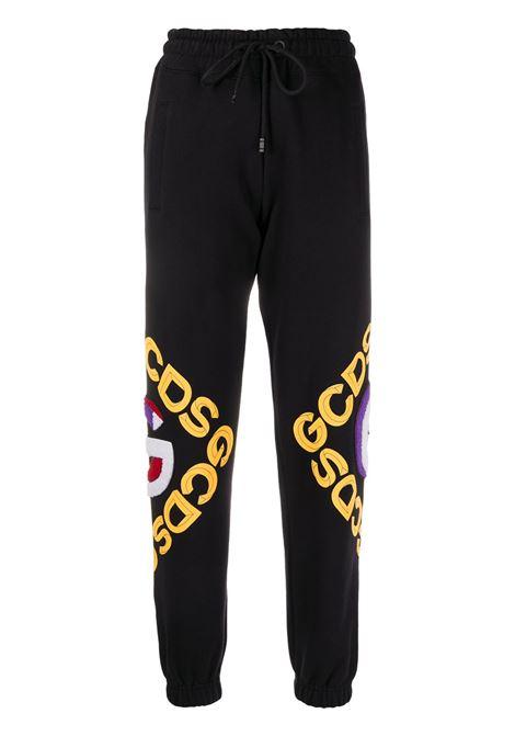 PANTALONE NERO GCDS | Pantalone | FW21W03010002