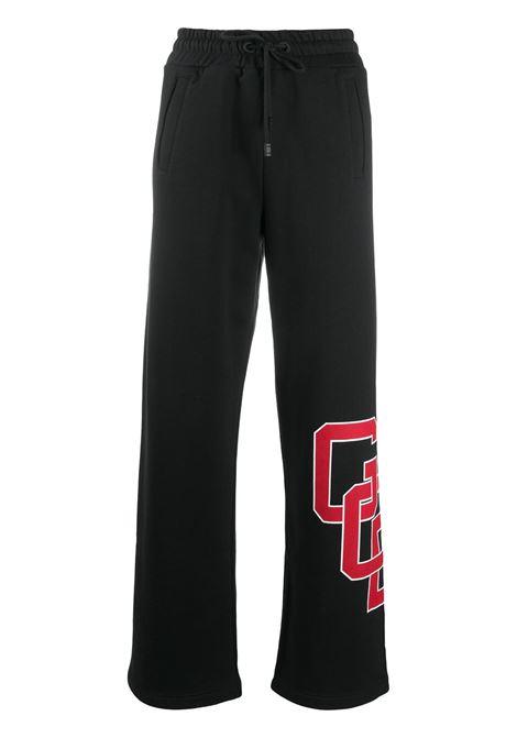 PANTALONE NERO GCDS | Pantalone | FW21W03011102