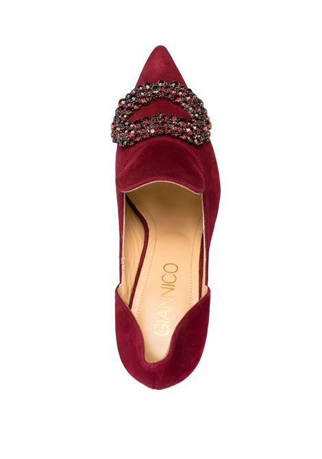 decollete bordeaux GIANNICO | Scarpe | GI0004.90CP28474039