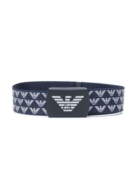cintura blu GIORGIO ARMANI KIDS | Cintura | 4013120A55435
