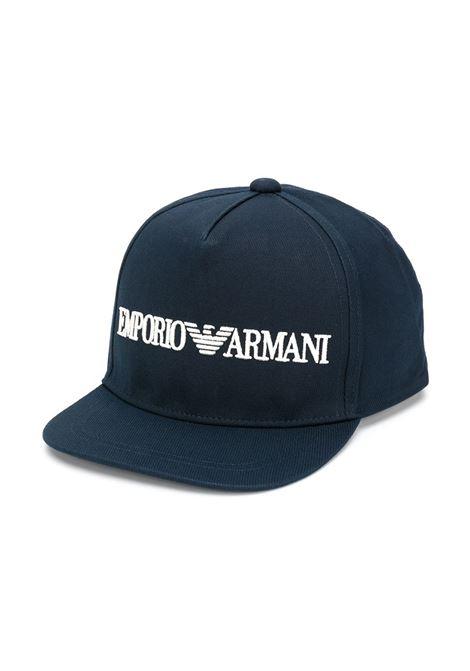 BERRETTO BLU GIORGIO ARMANI KIDS | Cappello | 4046190A46800035