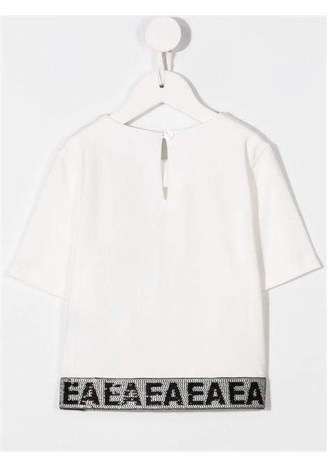 T-SHIRT BIANCA GIORGIO ARMANI KIDS | T-shirt | 6H3T103J3RZ101#