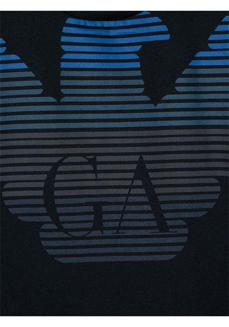 MAGLIA BLU GIORGIO ARMANI KIDS | T-shirt | 6H4TQ71J00Z0920#