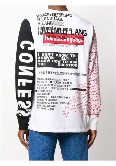 FELPA BIANCA HELMUT LANG | T-shirt | K05DM526VO2
