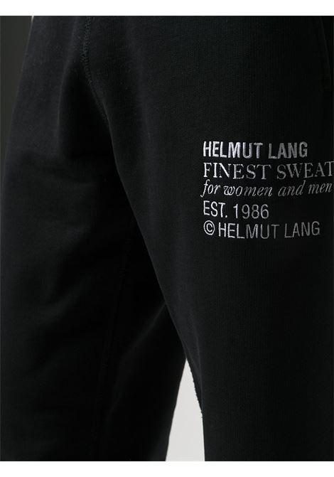 PANTALONE NERO HELMUT LANG | Pantalone | K06DM207YVM