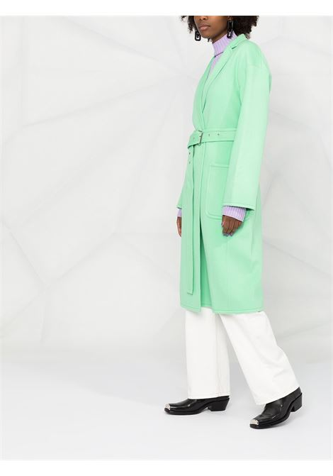 CAPPOTTO VERDE HELMUT LANG | Cappotto | K06HW402ZNQ