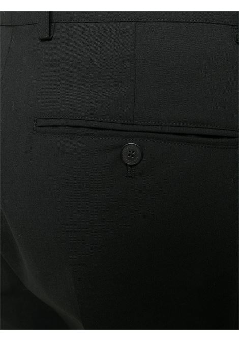 PANTALONE NERO LES HOMMES | Pantalone | LJP120305U9000