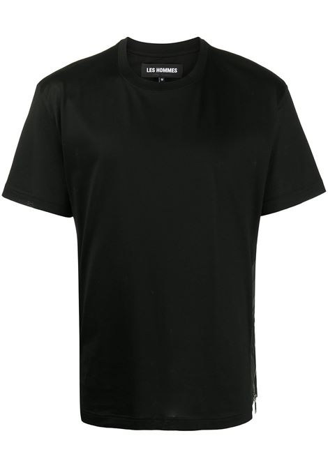 T-SHIRT NERA LES HOMMES | T-shirt | LJT150703B9000