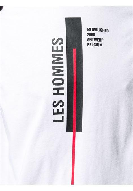 T-SHIRT BIANCA LES HOMMES | T-shirt | LJT201700P1000