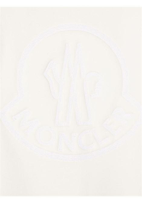 maglia beige MONCLER KIDS | Maglia | 8G72010809EH034#