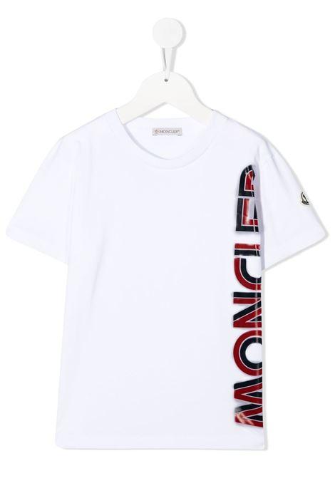 T-SHIRT BIANCA MONCLER KIDS | T-shirt | 9548C7262083092001#