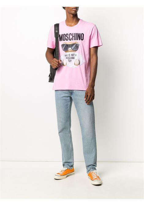 T-SHIRT ROSA MOSCHINO | T-shirt | 07015240A2222