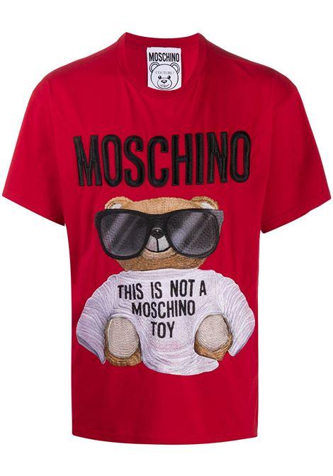 T-SHIRT ROSSA MOSCHINO | T-shirt | 07025240A2115