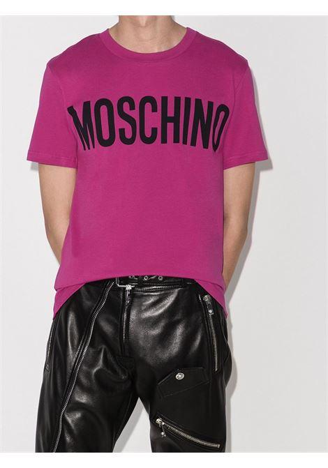 T-SHIRT FUCSIA MOSCHINO | T-shirt | 07057040A1244