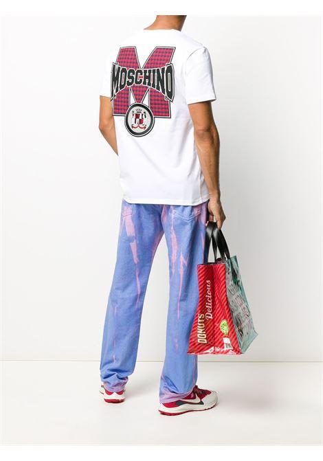 T-SHIRT BIANCA MOSCHINO | T-shirt | 07107038A0001