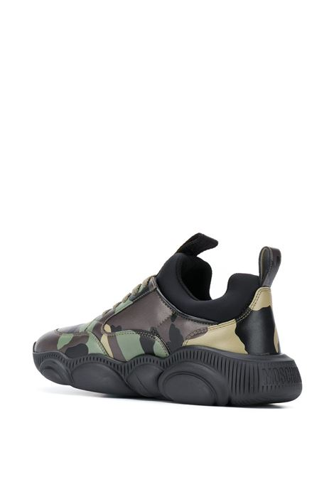 SNEAKERS CAMOUFLAGE MOSCHINO   Sneaker   MB15103G0BGQ285ACAMOUFLAGE