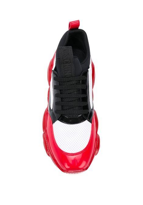 SNEAKERS ROSSA MOSCHINO | Sneaker | MB15103G0BGU110CBIANCO