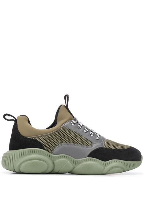 SNEAKERS VERDE MOSCHINO | Sneaker | MB15103G1BGH185AMILITARE