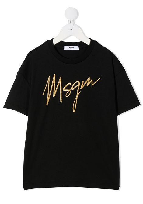 T-SHIRT NERA MSGM kids | T-shirt | 025193110#