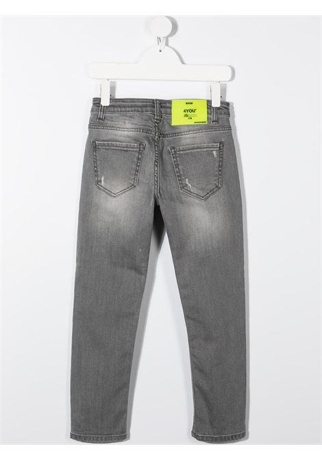 JEANS GRIGIO MSGM kids | Pantalone | 025300129#