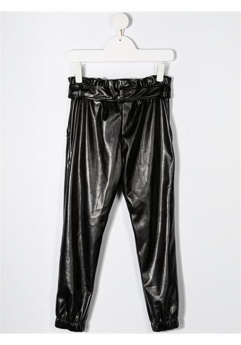 PANTALONE NERO MSGM kids | Pantalone | 025316110#