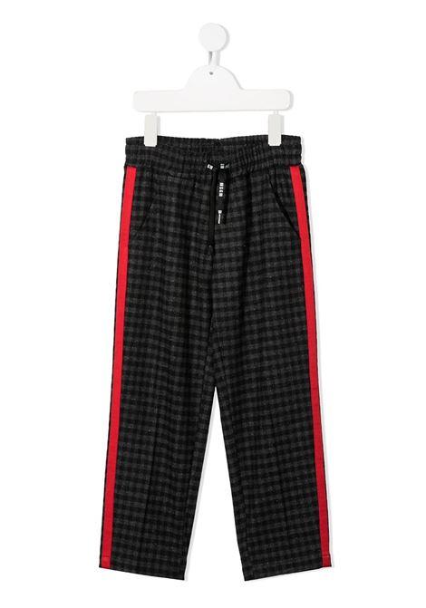 PANTALONE QUADRI MSGM kids | Pantalone | 025651200#