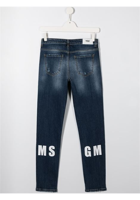 jeans blu MSGM kids | Pantalone | 025933126##