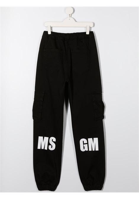 pantalone nero MSGM kids | Pantalone | 025935110##