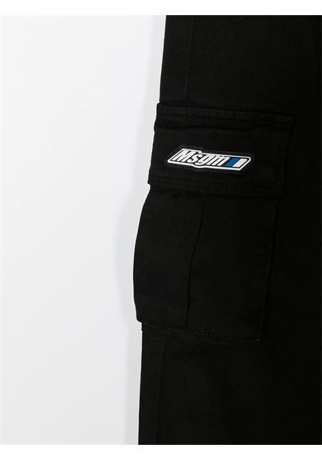pantalone nero MSGM kids | Pantalone | 025935110#