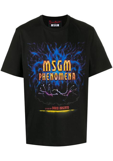 T-SHIRT NERA MSGM | T-shirt | 2940MM21420759899